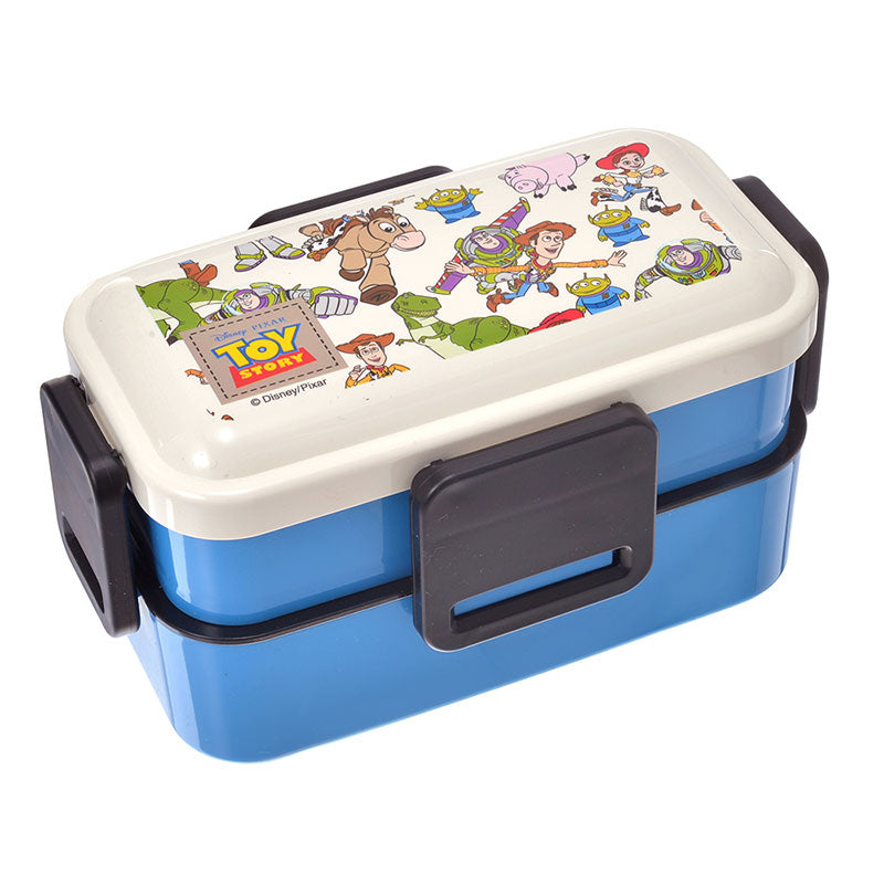 Toy Story Lock 2Stage Lunch Box Bento Disney Store Japan