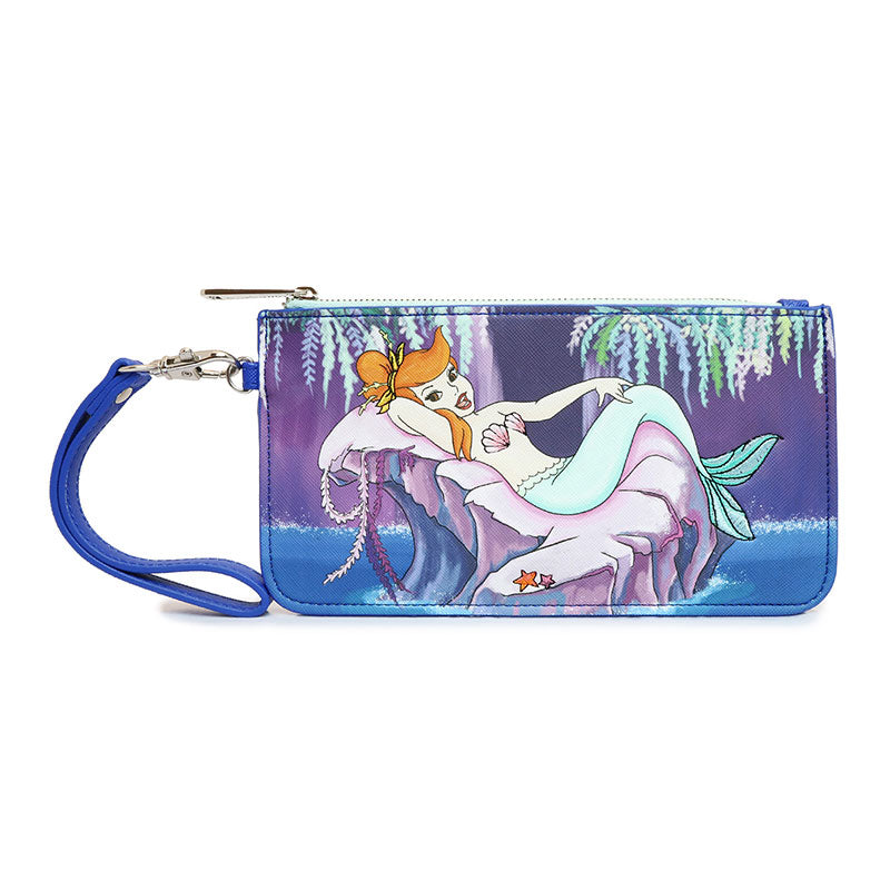Peter Pan Mermaid Long Wallet Loungefly Disney Store Japan