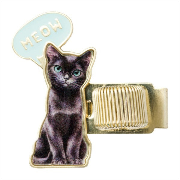 Pen Holder Chess Cat Aqua Blue PAUL & JOE Japan