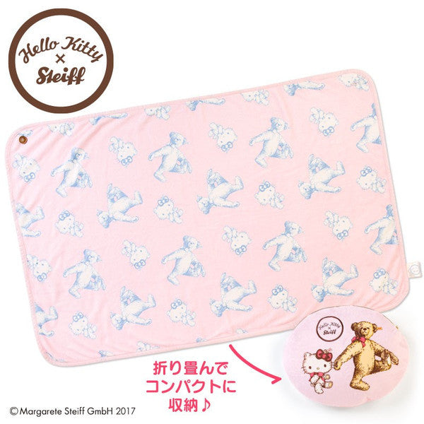 Hello Kitty Cushion Blanket Steiff Sanrio Japan