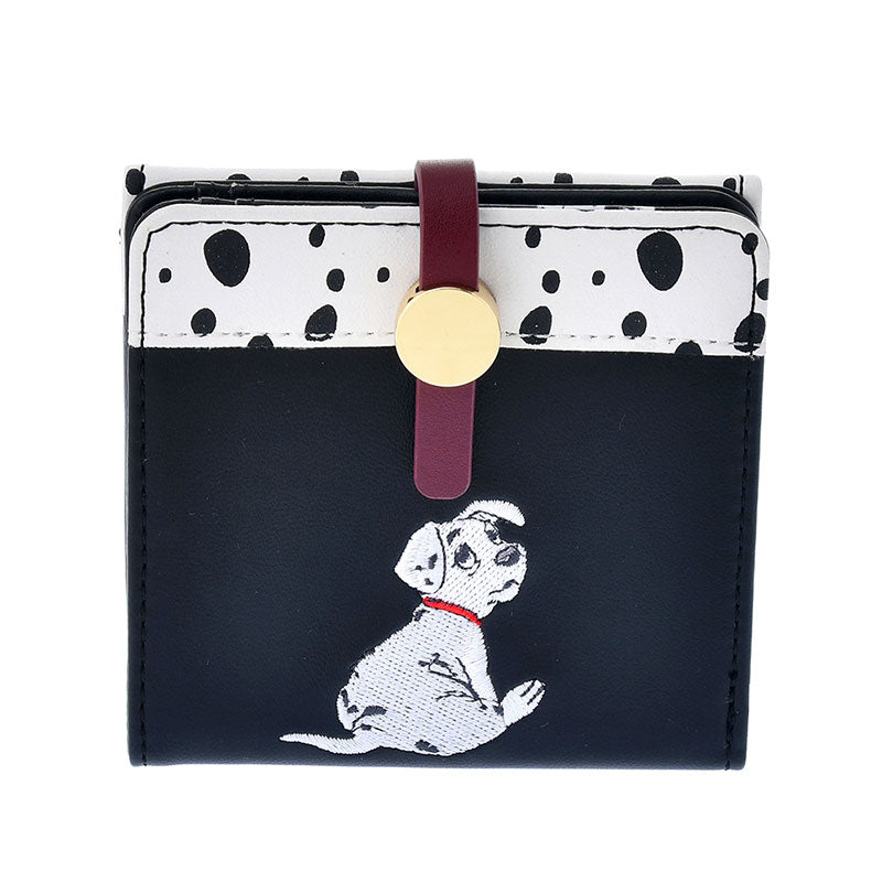 101 Dalmatians Rolly Wallet Black ACCOMMODE Disney Store Japan
