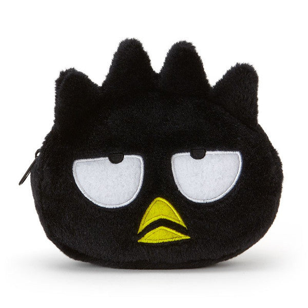 Bad Badtz-Maru Pouch Plush Face Sanrio Japan
