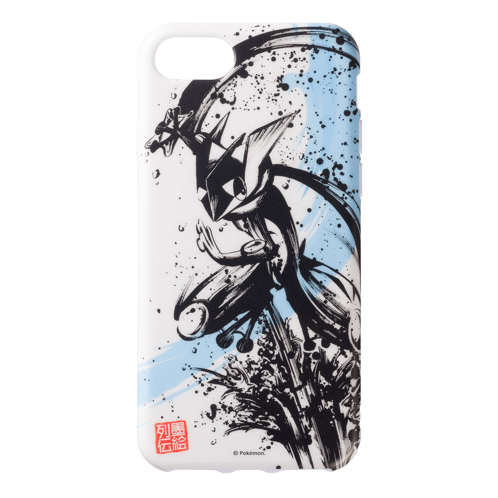 Greninja iPhone 6 6s 7 8 Case Cover Soft Ink Painting Legend Pokemon Japan