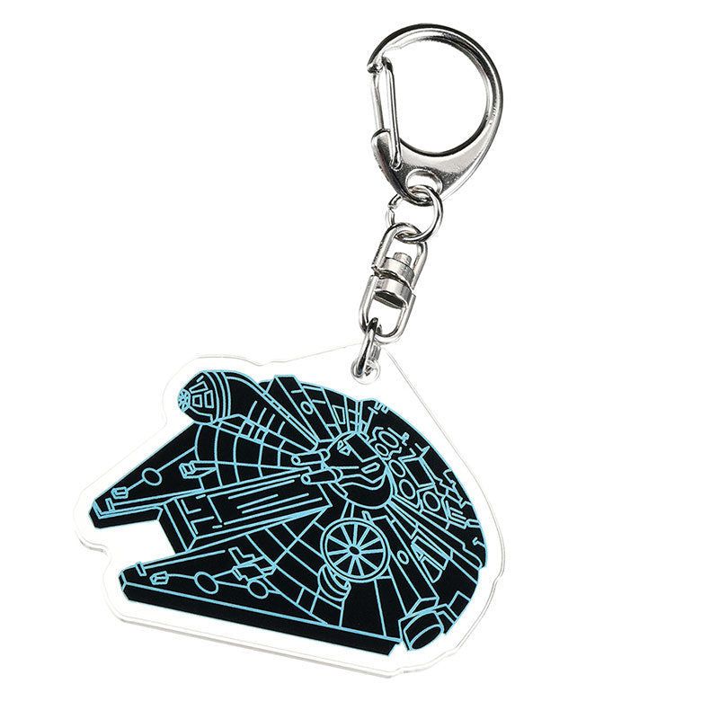 Star Wars Millennium Falcon Keychain The Rise Of Skywalker Disney Store Japan