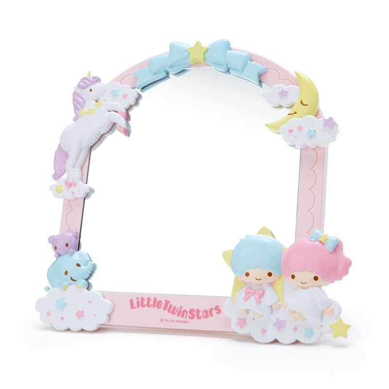 Little Twin Stars Kiki Lala Decoration Stand Mirror Sanrio Japan