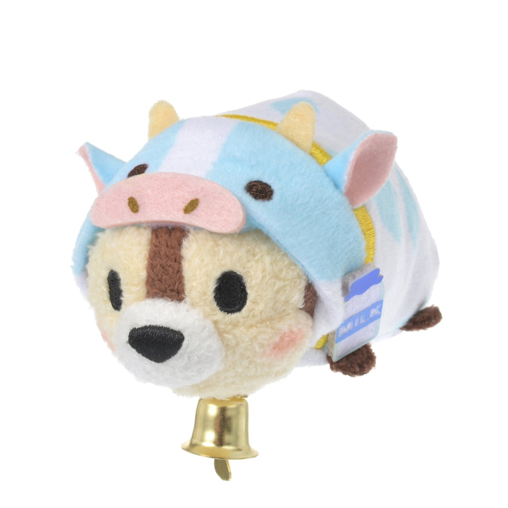 Chip Tsum Tsum Plush Doll mini S Eto Zodiac 2021 Cow Disney Store Japan New Year