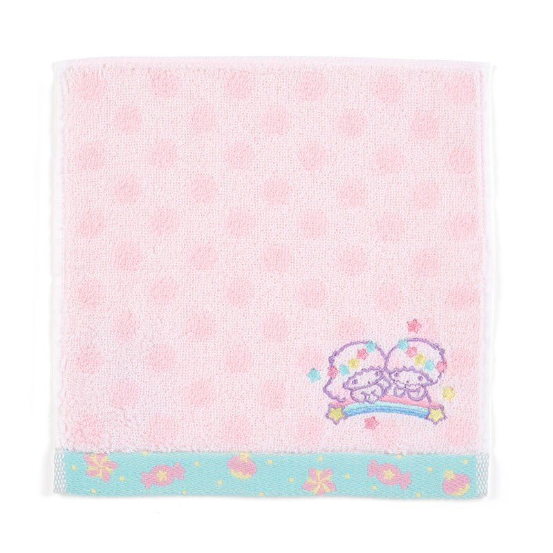 Little Twin Stars Kiki Lala mini Towel Dot Sanrio Japan