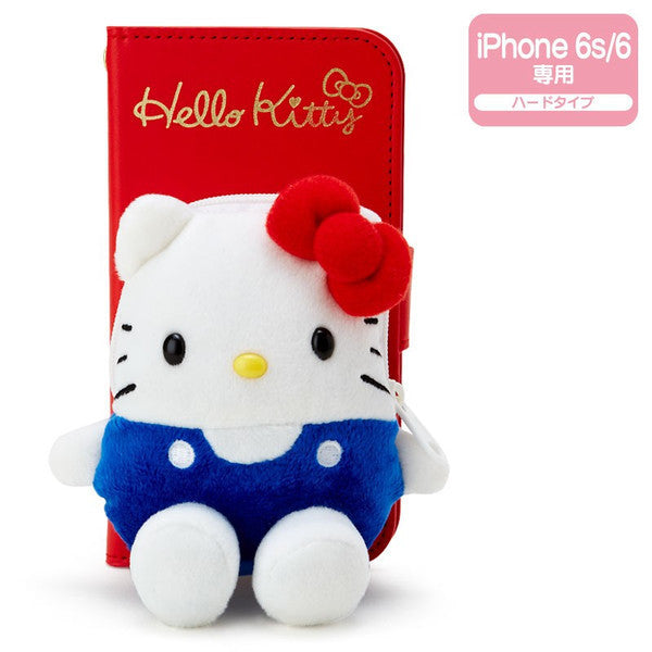 Hello Kitty iPhone 6 6s Case Cover Plush Pass Sanrio Japan