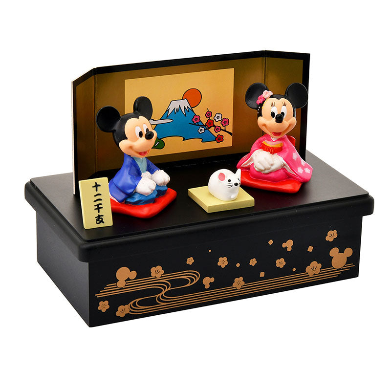 Mickey & Minnie Zodiac Decoration Disney Store Japan New Year