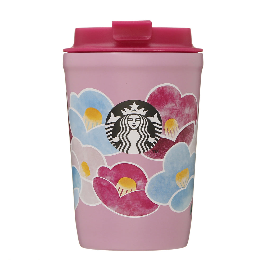 Stainless Tumbler Camellia New Year 2021 Starbucks Japan