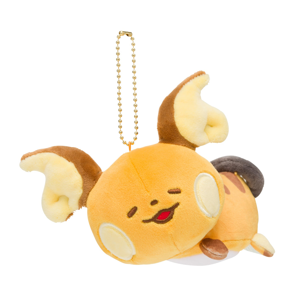 Raichu Plush Keychain Pokemon Yurutto Japan Center