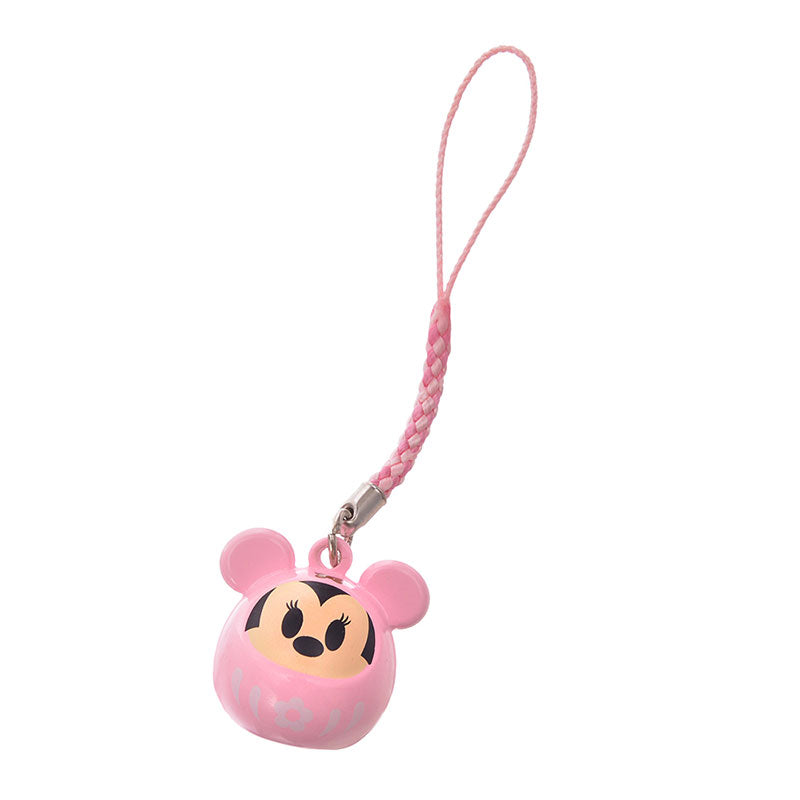 Minnie Mobile Strap Daruma Eto 2020 New Year Disney Store Japan