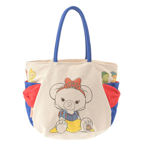 UniBEARsity Apfel Rose Snow White Canvas Tote Bag Disney Store Japan
