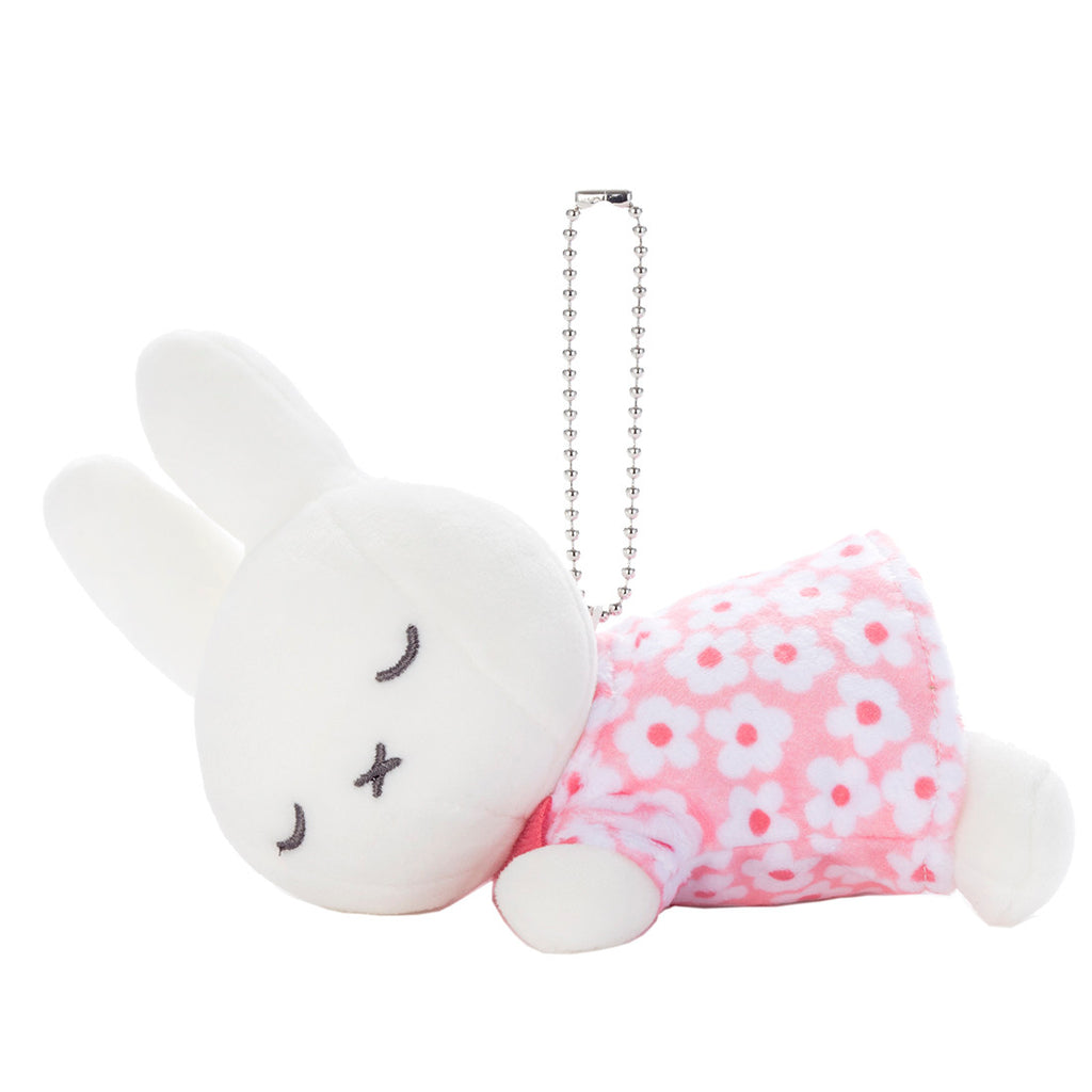 Miffy Plush Keychain Flower Suyasuya Sleeping Friend Dick Bruna Miffy Japan