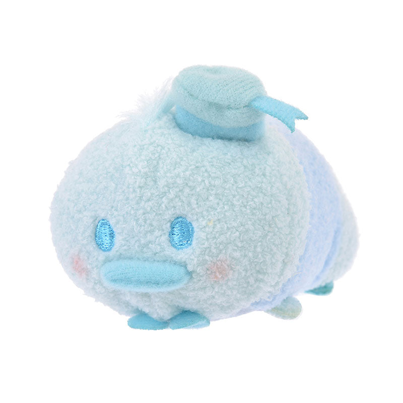 Donald Tsum Tsum Plush Doll mini S Pastel Color Blue Disney Store Japan