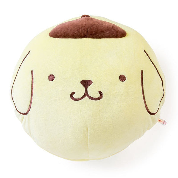 Pom Pom Purin Cushion Round Soft Sanrio Japan