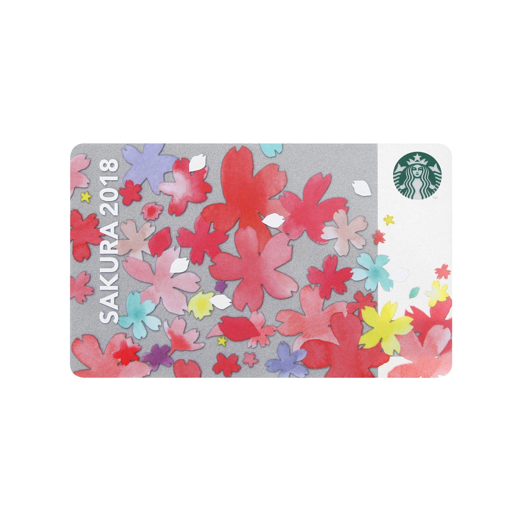 Starbucks Card SAKURA Full Bloom 2018 Starbucks Japan