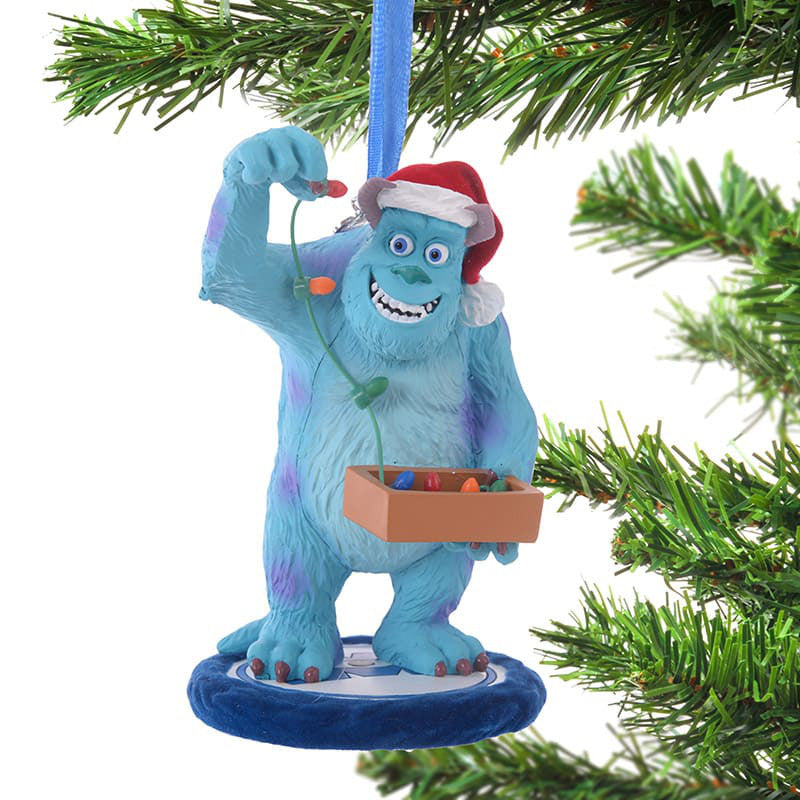 Monsters Inc Sulley Christmas Tree Ornament Illumination Disney Store Japan 2018