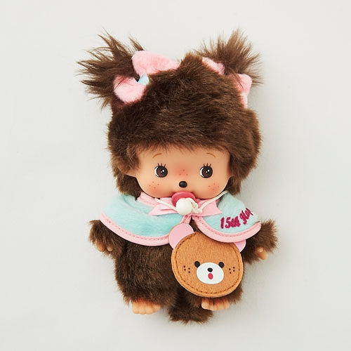 Bebichhichi Doll S Girl 15th ANNIVERSARY HAPPY TRIP Monchhichi Japan