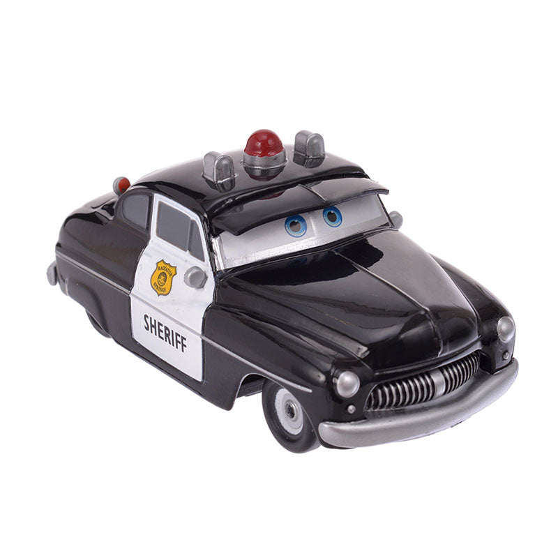 Cars Sheriff pullback Toy Car Disney Store Japan