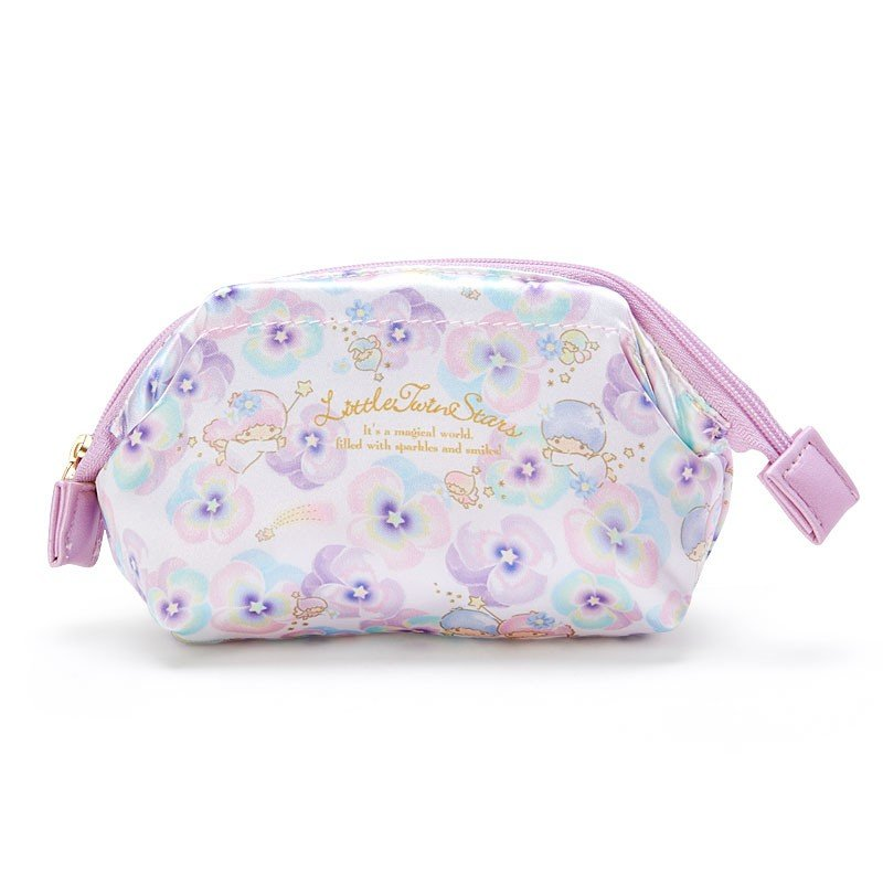 Little Twin Stars Kiki Lala Pouch Flower Cosmetics Sanrio Japan
