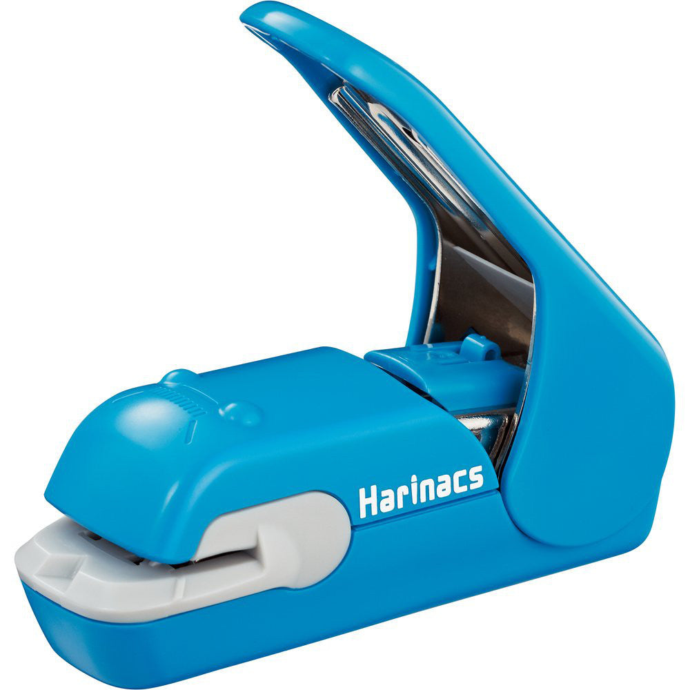Harinacs Press Staple-free Stapler Blue SLN-MPH105B Kokuyo Japan
