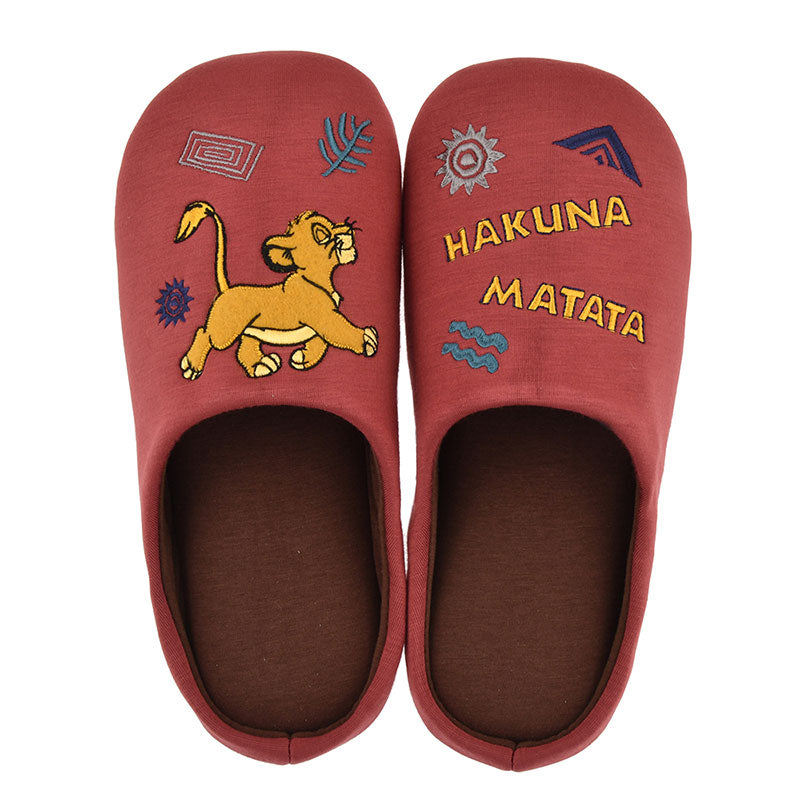 Lion King Simba Slipper L Low resilience Disney Store Japan