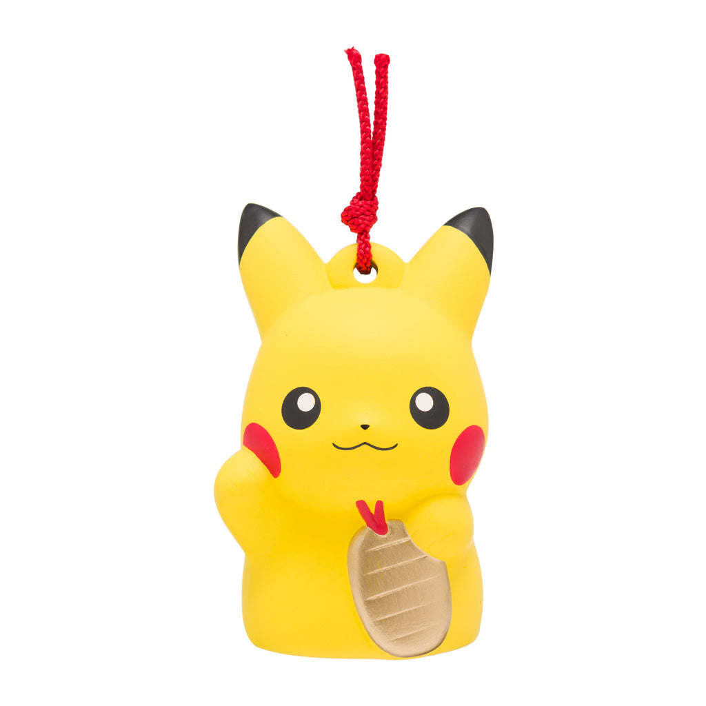 Pikachu Ceramic Decoration Yakushigama Bell Pokemon Center New Year Japan 2020
