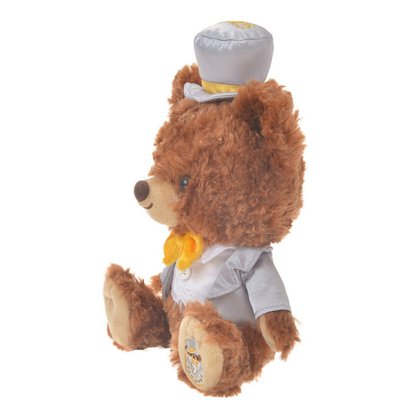 UniBEARsity Mont Chip Plush Doll SS 7th Anniversary Top Hat Disney Store Japan