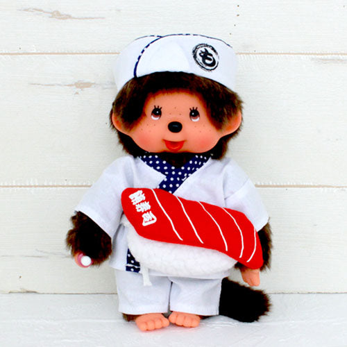 Monchhichi Doll S Boy Sushi Japan