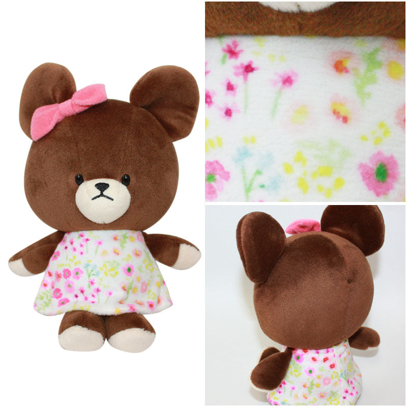 Jackie Soft Bean Doll Plush Flower Dress the bears' school Japan