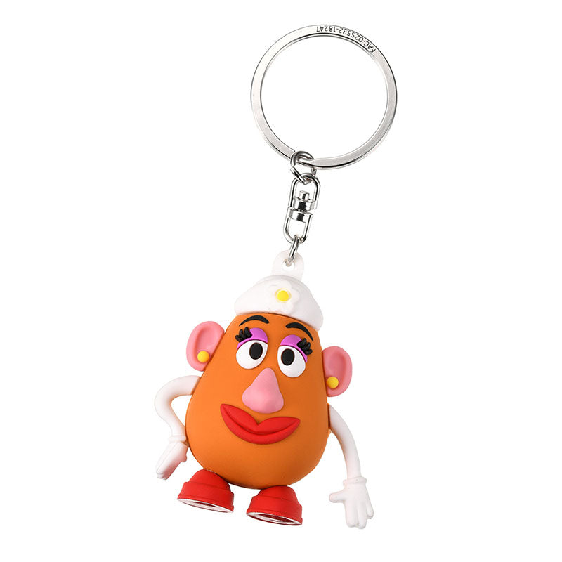 Mrs. Potato Head Keychain Key Holder 3D Disney Store Japan Toy Story