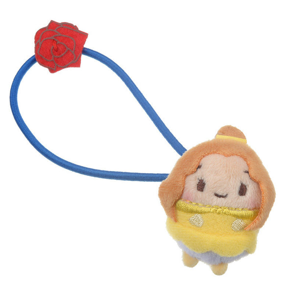 Belle Ponytail Holder Plush ufufy Disney Store Japan Beauty and the Beast