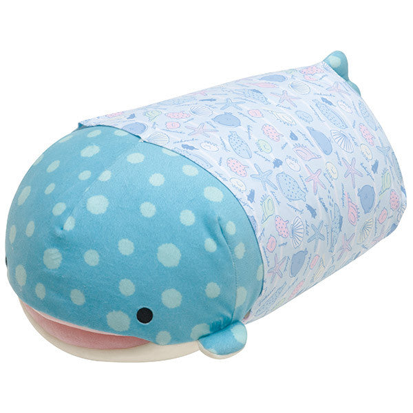 Jinbei San Whale Shark Super Soft Body Pillow Deep Sea Friends San-X Japan