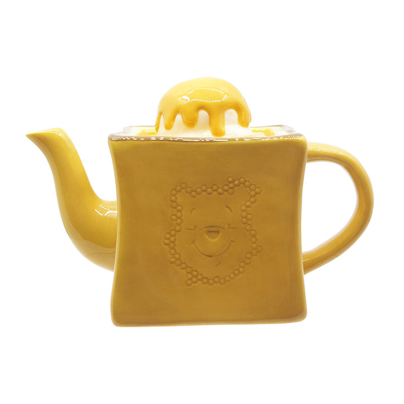 Winnie the Pooh Porcelain Teapot Honey Toast Disney Store Japan