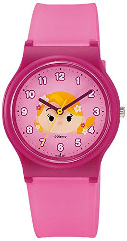 Rapunzel Tsum Tsum Wrist Watch Waterproof HW00-007 CITIZEN Q&Q Japan Disney