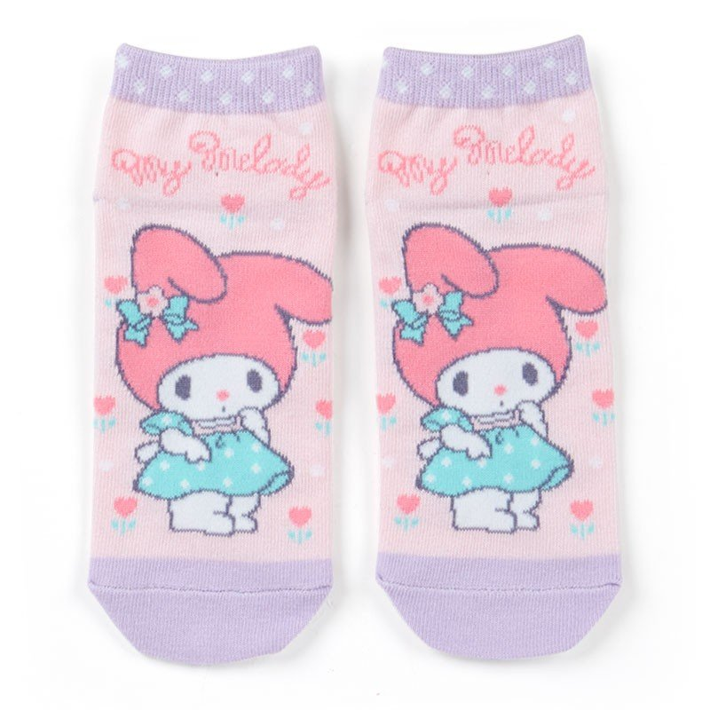 My Melody Ankle Socks 23~25cm Dress up Sanrio Japan