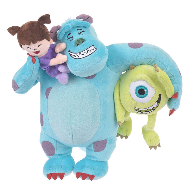 Boo Mike Sulley Plush Doll Hug & Smile Disney Store Japan Monsters Inc