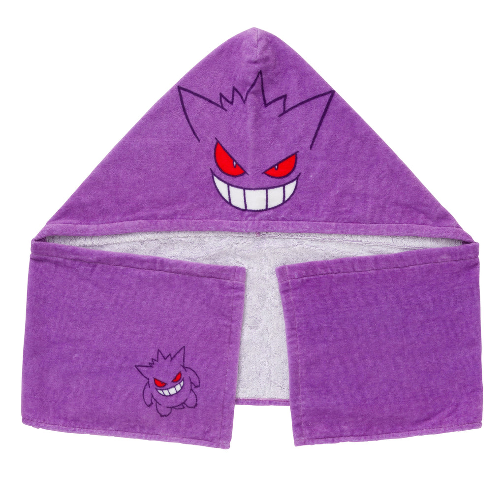 Hooded Towel Gengar de Hiyari !? Pokemon Center Japan Original