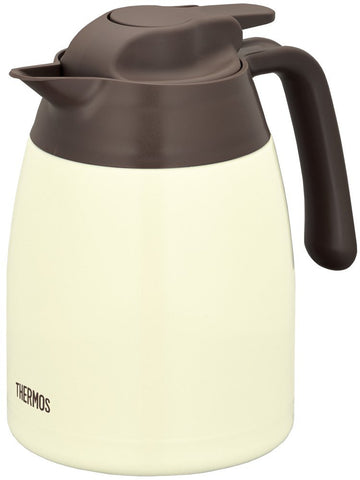 Thermos Stainless Pot 1L Cookie Cream THV-1001 CCR Japan