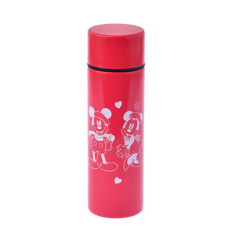 Mickey Minnie Stainless Bottle 110ml Lipstick LET'S TRAVEL Disney Store Japan