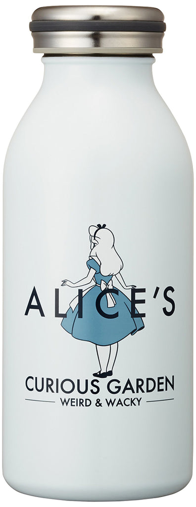 Alice in Wonderland Screw Stainless Mug Bottle 0.35L mosh! Disney Japan