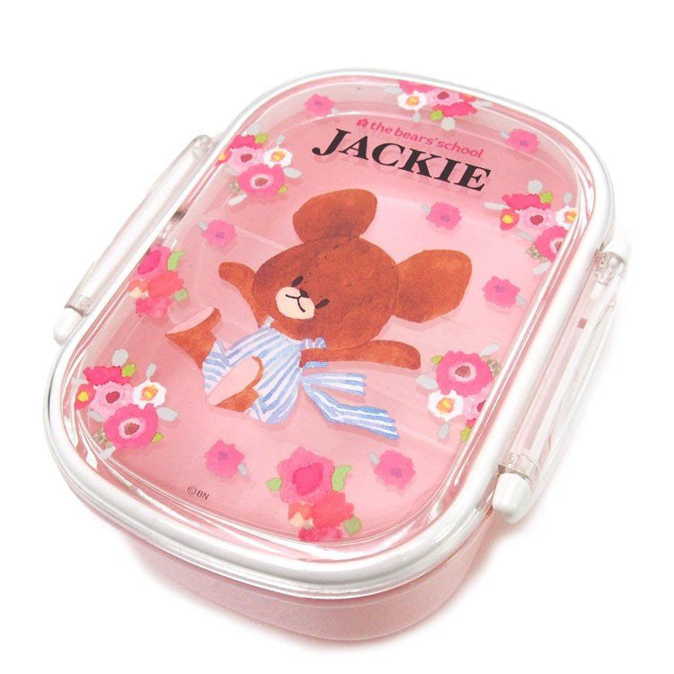 Jackie Lock Lunch Box Bento Pink the bears' school Japan
