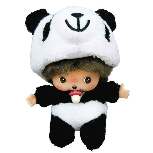 Bebichhichi Doll Boy Panda Fluffy Animal Monchhichi Japan