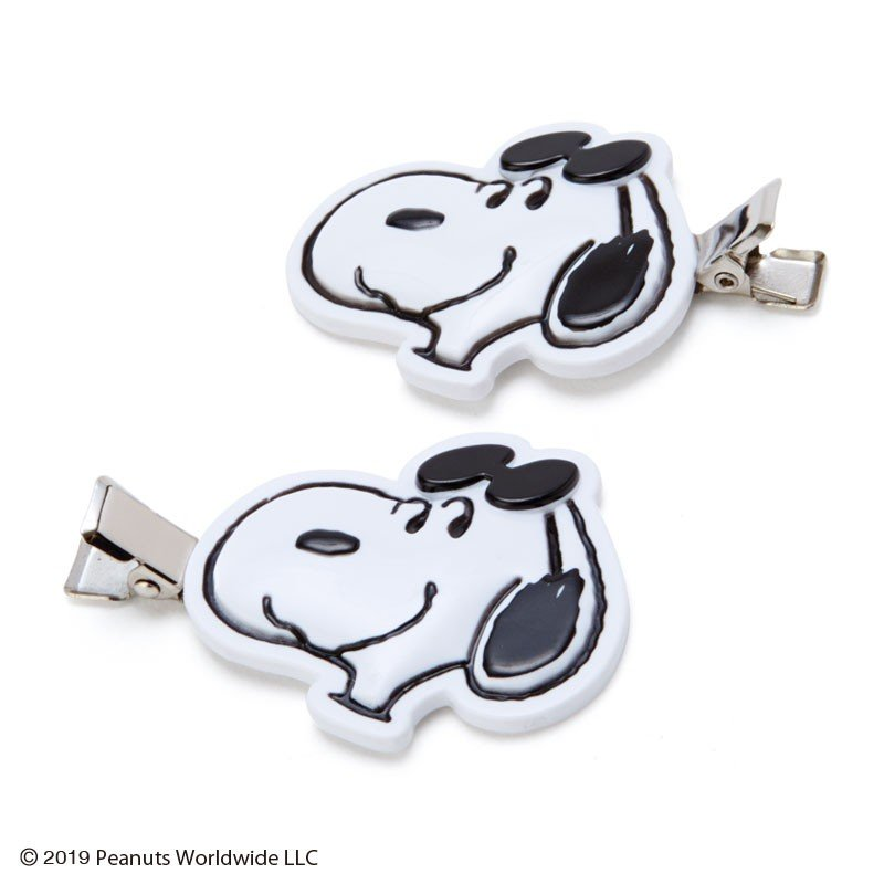 Snoopy Hair Clip JOE COOL PEANUTS Sanrio Japan