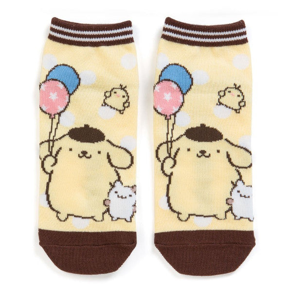 Pom Pom Purin Sneaker Socks Balloon Sanrio Japan