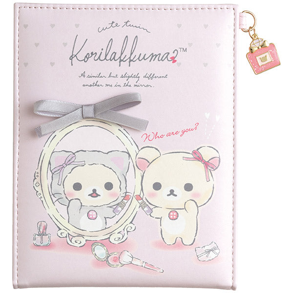 Korilakkuma in the Mirror Folding Mirror San-X Japan Rilakkuma