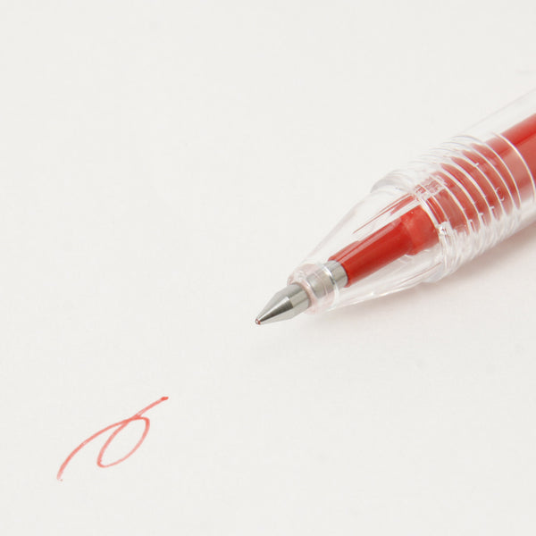 Muji Japan Erasable Ball Point Pen 0.5mm Red 4548718726752