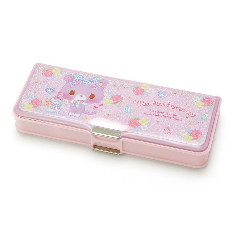 Mewkledreamy Double Side Opening Pen Case Perfume Sanrio Japan