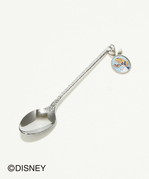 Alice in Wonderland Teaspoon with Charm Silver Afternoon Tea Japan Disney